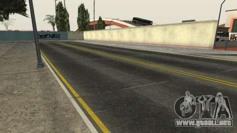 Las carreteras y de la vegetación de Los Santos para GTA San Andreas