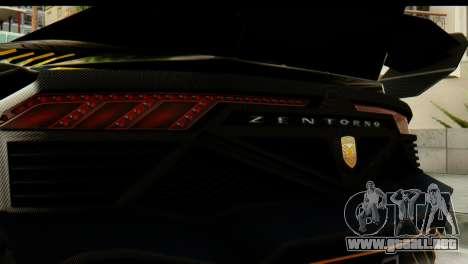 GTA 5 Pegassi Zentorno v2 SA Mobile para la visión correcta GTA San Andreas