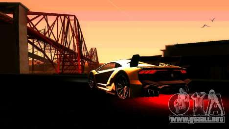 ANCG ENB para PC de bajos para GTA San Andreas tercera pantalla