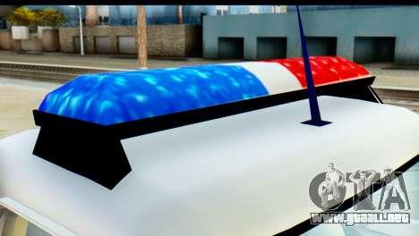 Chevrolet C10 Patrulla para la visión correcta GTA San Andreas