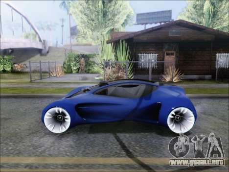 Mercedes-Benz Biome para GTA San Andreas vista posterior izquierda