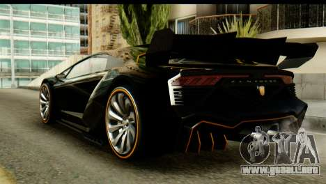 GTA 5 Pegassi Zentorno v2 SA Mobile para GTA San Andreas left