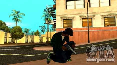 Weapon Pack para GTA San Andreas octavo de pantalla