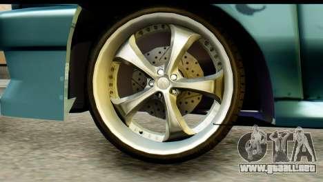 Ford Festiva Tuning para GTA San Andreas vista posterior izquierda