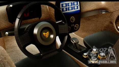 Marussia B2 para la visión correcta GTA San Andreas