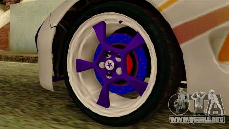 Mazda RX-7 Gangsta Club para la visión correcta GTA San Andreas