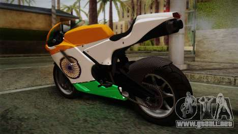 GTA 5 Bati Indian para GTA San Andreas left