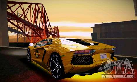 ANCG ENB para PC de bajos para GTA San Andreas