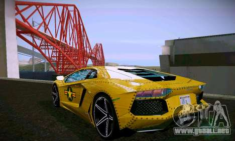 ANCG ENB para PC de bajos para GTA San Andreas undécima de pantalla