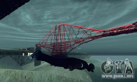 ANCG ENB para PC de bajos para GTA San Andreas segunda pantalla