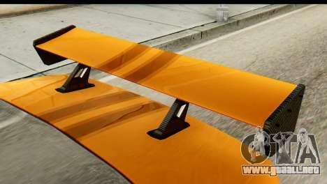 Ikco Samand Tuning para GTA San Andreas vista posterior izquierda