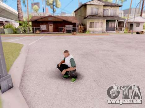 Real animaciones de GTA 5 para GTA San Andreas tercera pantalla