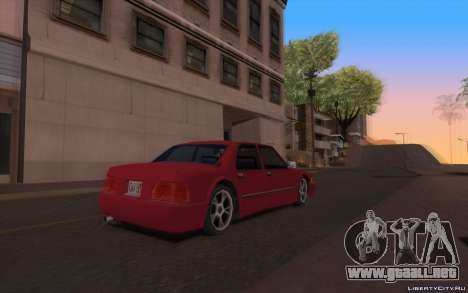 ENB for Tweak PC para GTA San Andreas sucesivamente de pantalla