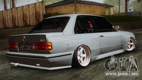 BMW M3 E30 para GTA San Andreas left
