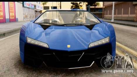 GTA 5 Pegassi Zentorno v2 para visión interna GTA San Andreas