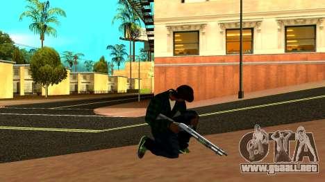 Weapon Pack para GTA San Andreas novena de pantalla
