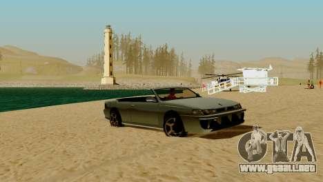 DLC garaje de GTA online de la marca nueva de tr para GTA San Andreas undécima de pantalla
