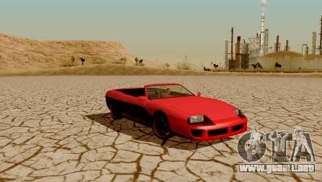 DLC garaje de GTA online de la marca nueva de tr para GTA San Andreas twelth pantalla