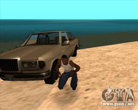 Realistic Water ENB para GTA San Andreas