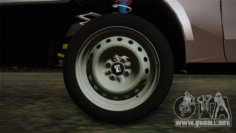 VAZ 2108 Escorrentía para GTA San Andreas vista posterior izquierda