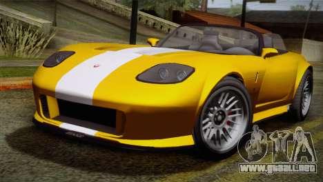 GTA 5 Invetero Coquette SA Mobile para GTA San Andreas left
