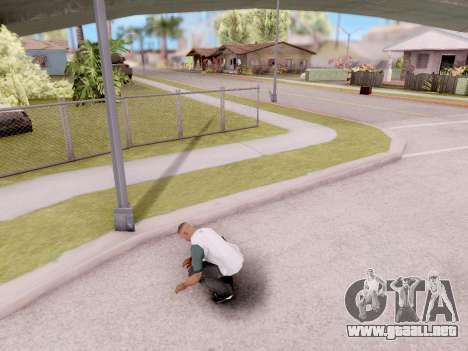 Real animaciones de GTA 5 para GTA San Andreas segunda pantalla