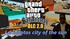 DLC garaje de GTA online de la marca nueva de transporte para GTA San Andreas