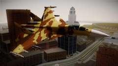 SU-37 Terminator para GTA San Andreas