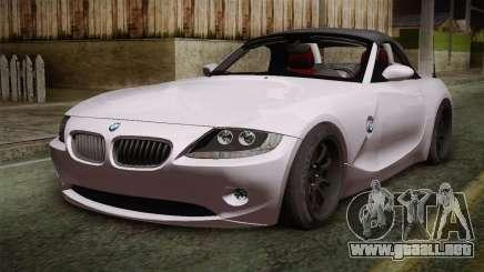 BMW Z4 V10 IVF para GTA San Andreas