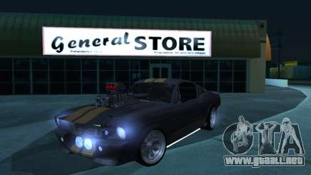 Shelby GT500 Eleanor para GTA San Andreas