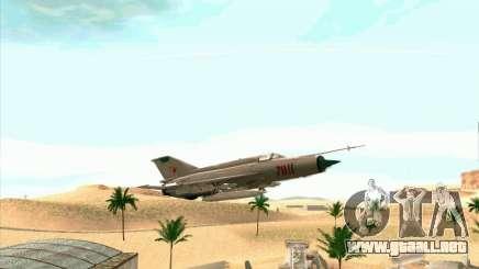 MiG 21 para GTA San Andreas