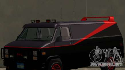 GMC The A-Team Van para GTA San Andreas