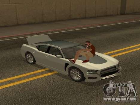 ALEX&GRIN Skin para GTA San Andreas sucesivamente de pantalla