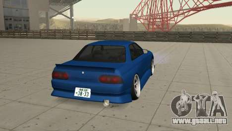 Nissan Skyline R32 Sedan para GTA San Andreas left