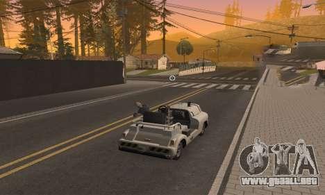 CLEO Drive By para GTA San Andreas sucesivamente de pantalla
