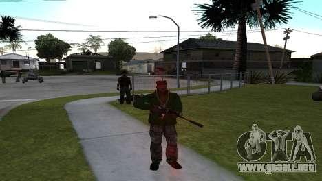 M4 Cyrex из CS:GO para GTA San Andreas segunda pantalla