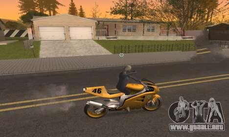 CLEO Drive By para GTA San Andreas tercera pantalla