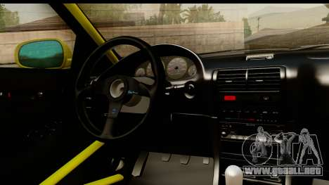Acura Integra Type R 2001 para vista lateral GTA San Andreas
