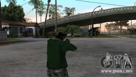 M4 Cyrex из CS:GO para GTA San Andreas tercera pantalla