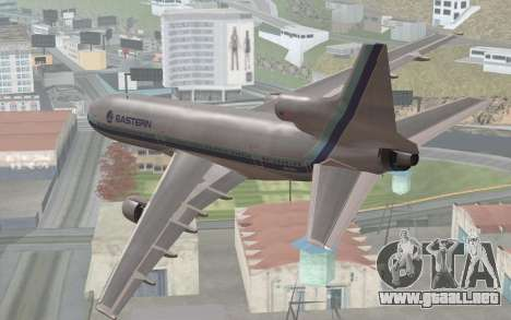 Lookheed L-1011 Eastern Als para GTA San Andreas left