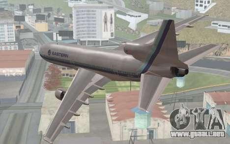 Lookheed L-1011 Eastern Als para GTA San Andreas left