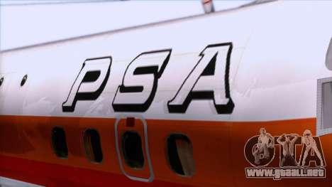 L-188 Electra PSA para GTA San Andreas vista hacia atrás