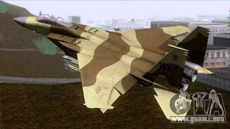 F-15C Camouflage Pack para GTA San Andreas left