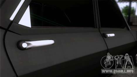 Dacia 1300 GFB Stanced para GTA San Andreas vista hacia atrás