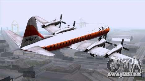 L-188 Electra PSA para GTA San Andreas left