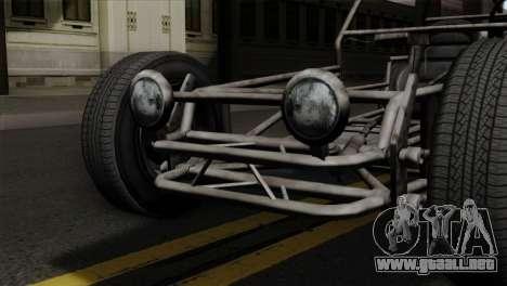 GTA 5 Space Docker SA Mobile para GTA San Andreas vista hacia atrás
