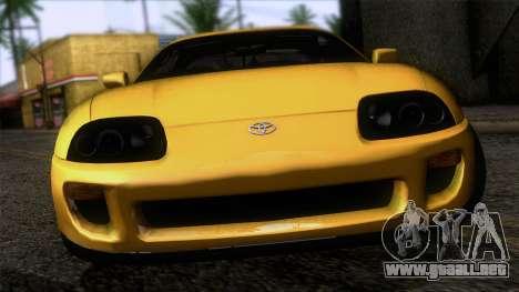 Toyota Supra S-Spec (JZA80) 1993 ECO de la apt para GTA San Andreas