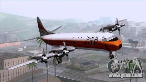 L-188 Electra PSA para GTA San Andreas