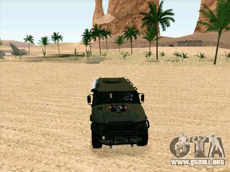 GAZ 2975 para GTA San Andreas left