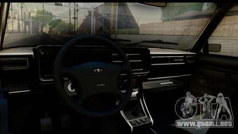 VAZ 21074 para visión interna GTA San Andreas